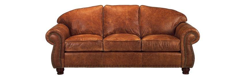 Elegant Legacy Leather Nogalas Sofa