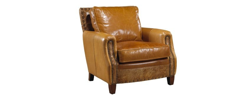 Legacy Leather Orson Chair. Zoom