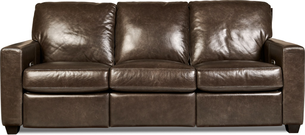 Legacy Leather Living Room San Diego Motion Sofa | Hickory ...