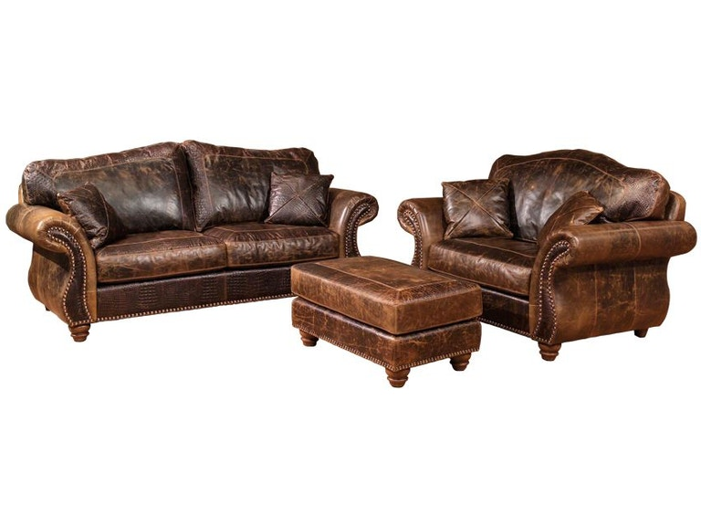 Legacy Leather Tucson Sofa