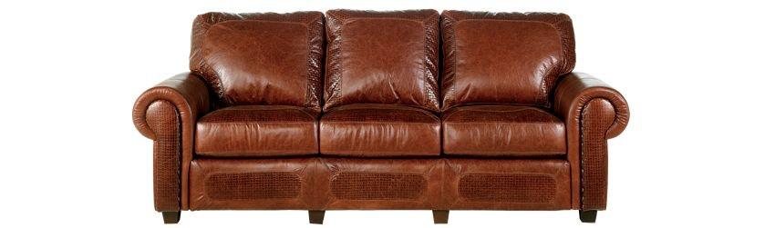 High Quality Legacy Leather Wyoming Sofa