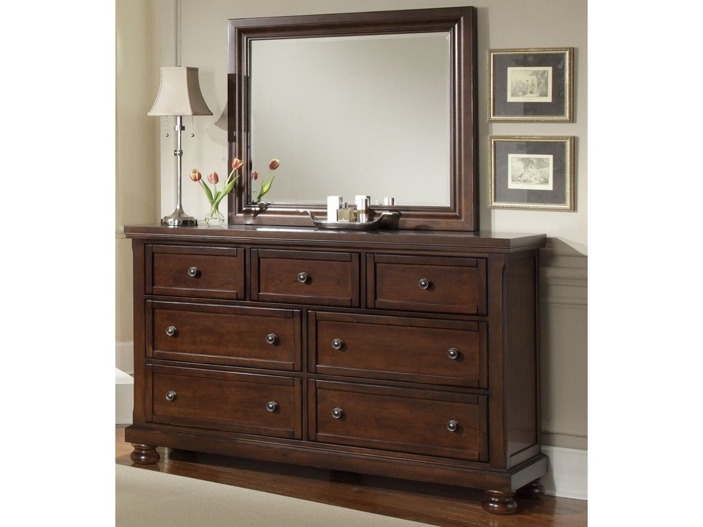 Vaughan Bassett Furniture Company Youth Reflections Triple