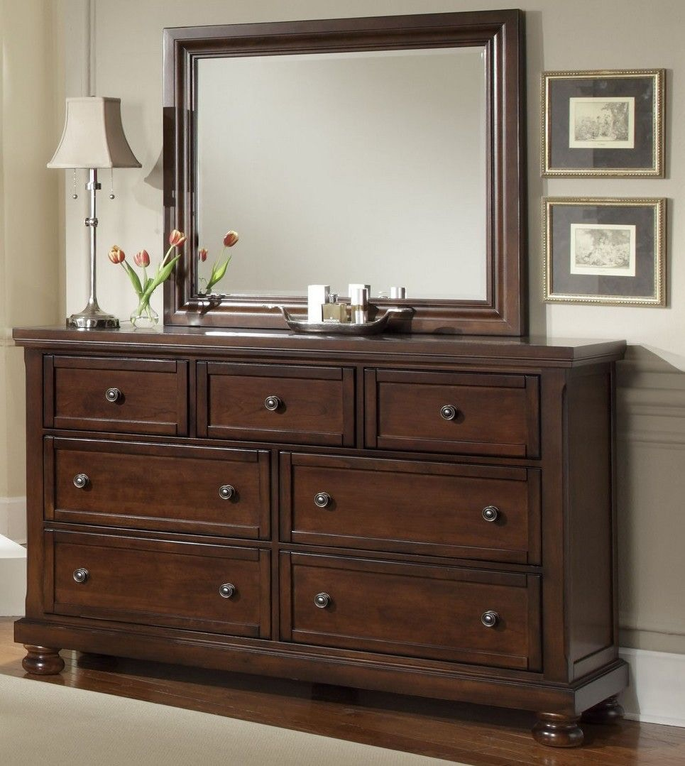 Vaughan Bassett Bedroom Reflections Triple Dresser 038677