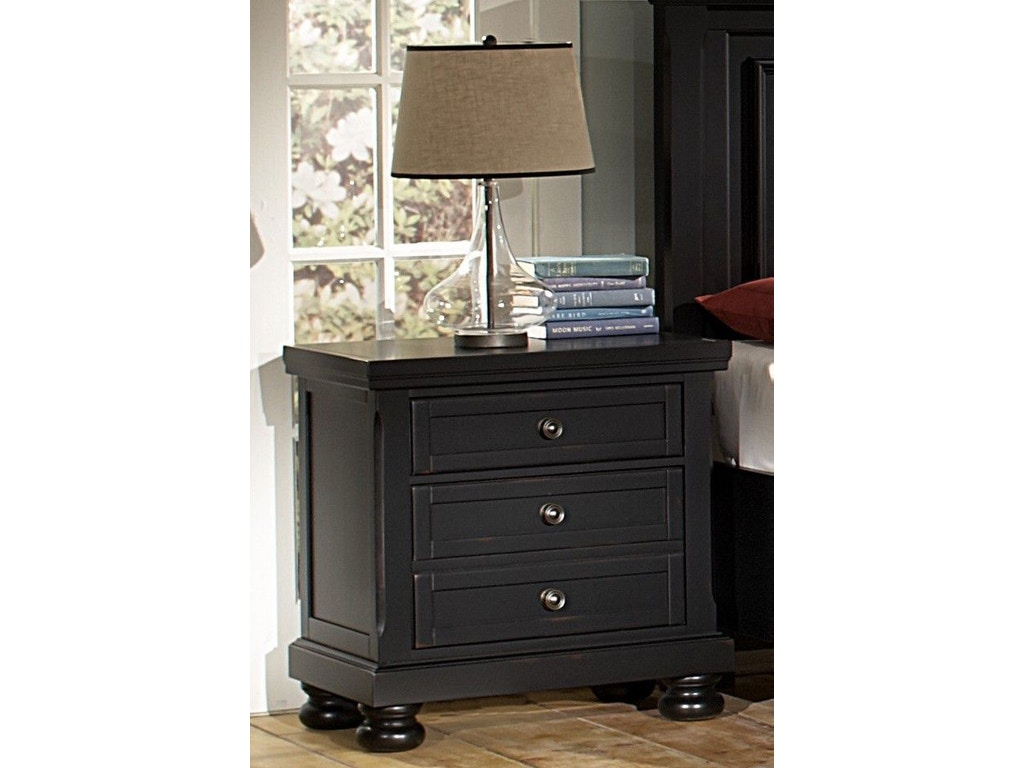 Vaughan Bassett Furniture Company Bedroom Night Stand 534 226 Smith Village Home Furniture