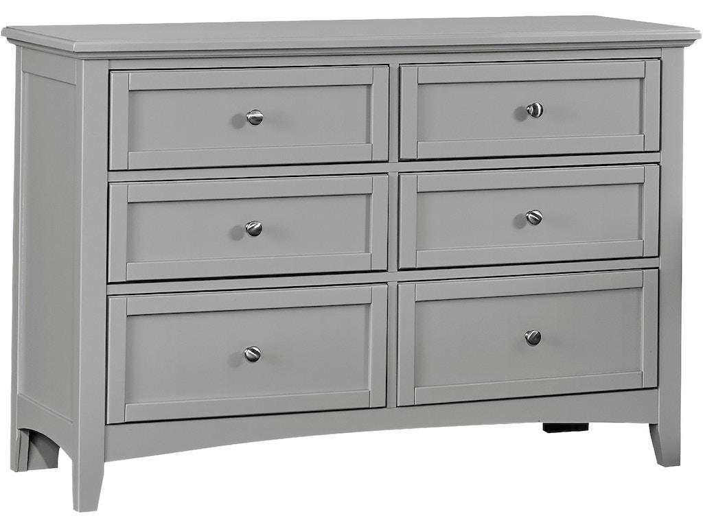 Vaughan Bassett Furniture Company Bedroom Double Dresser Bb26 001 Flemington Department Store