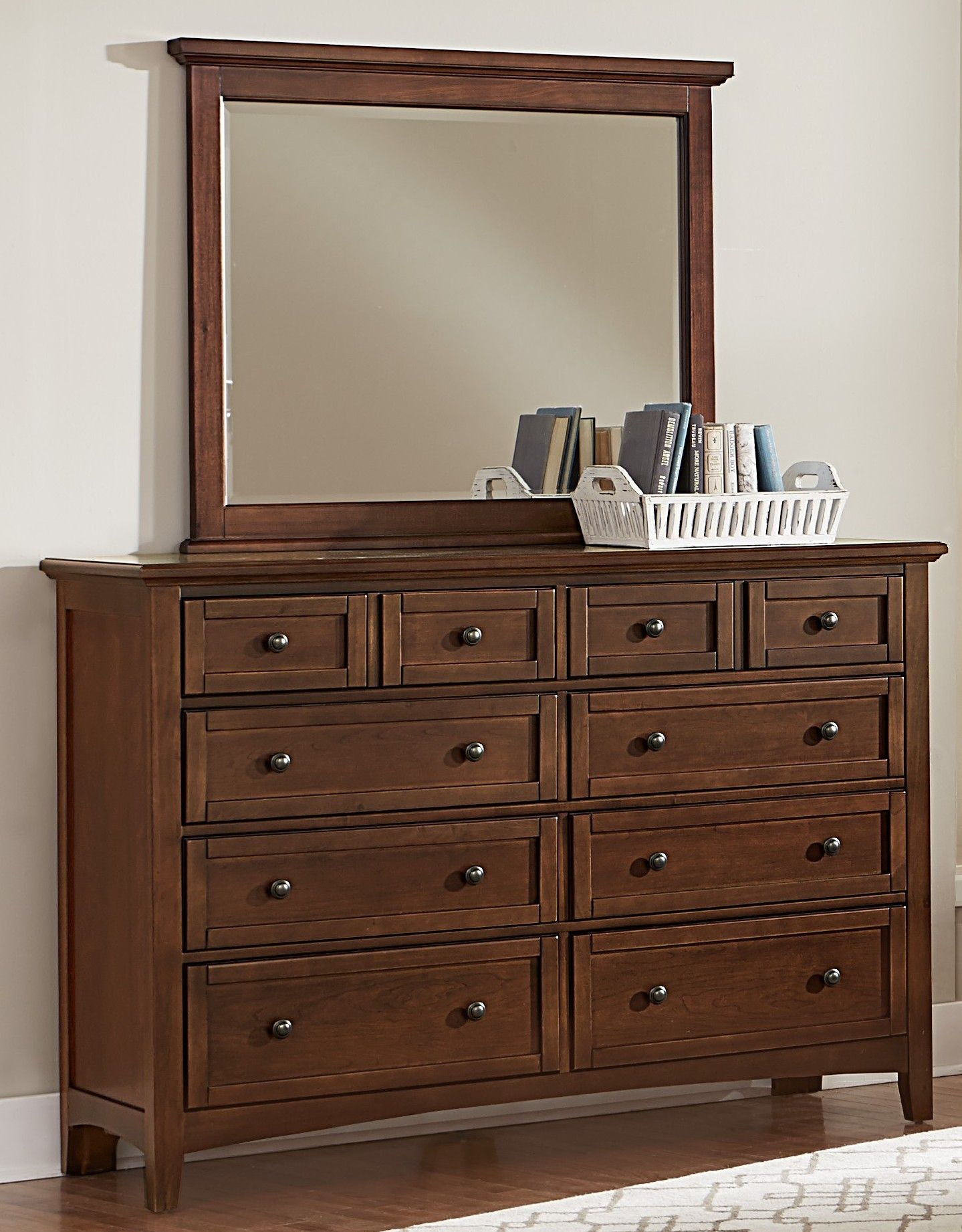 Delicieux Vaughan Bassett Furniture Company Triple Dresser BB28 002