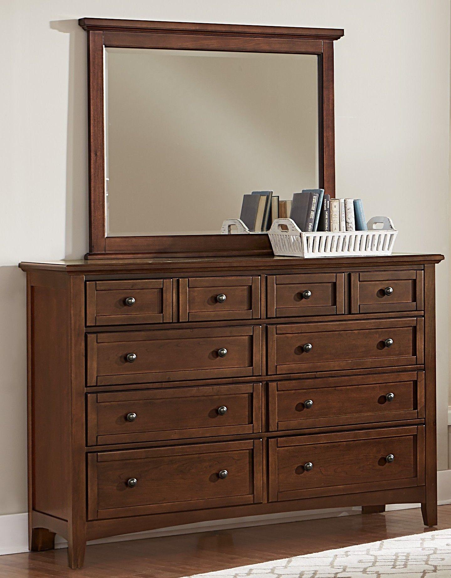 Vaughan Bassett Furniture Company Bedroom Triple Dresser Bb28002