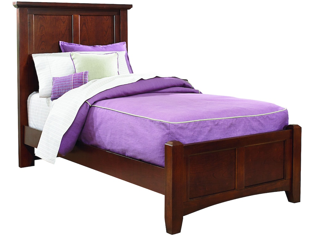 Vaughan bassett furniture company youth mansion headboard for K furniture mattress