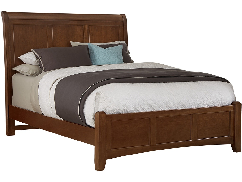 Vaughan Bassett Furniture Company Bedroom Sleigh Headboard 5 0 Bb28 553 Flemington Department