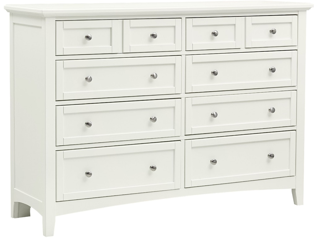 Vaughan Bassett Furniture Company Bedroom Triple Dresser Bb29 002 Flemington Department Store
