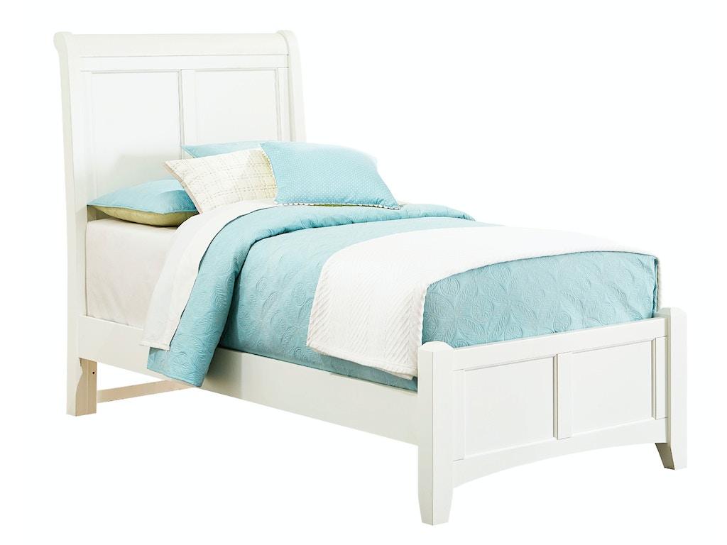 Vaughan bassett furniture company youth sleigh headboard 4 for K furniture mattress