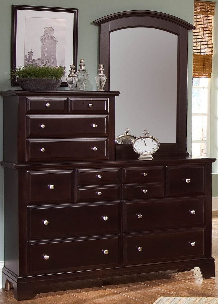 Vaughan Bassett Furniture Company Vanity Dresser BB4 003