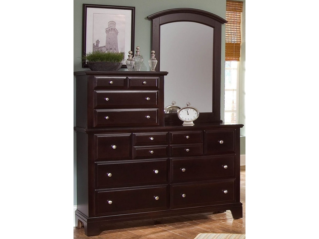 Vaughan Bassett Bedroom Vanity Dresser Bb4 003 Tyndall Furniture Mattress Charlotte