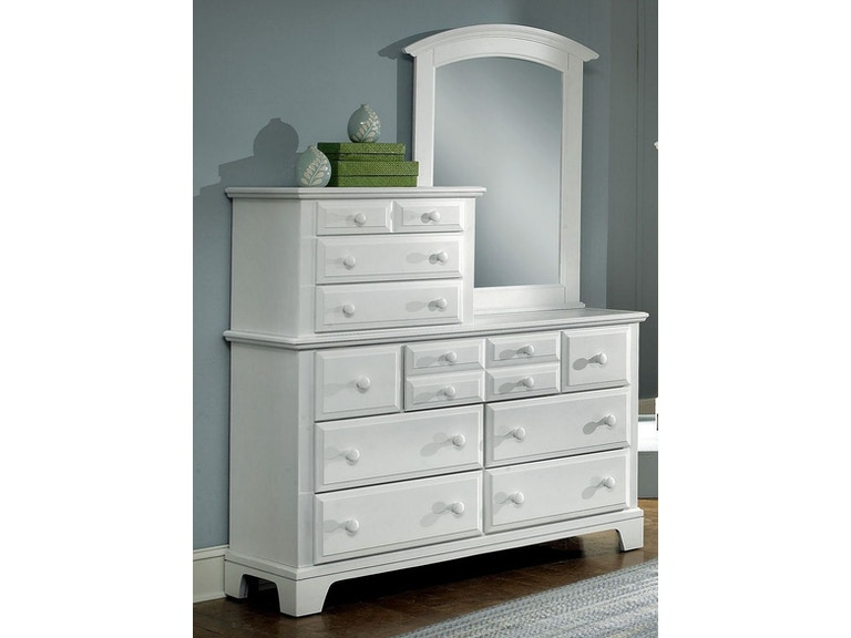 Vaughan-Bassett Furniture Company Bedroom Vanity Dresser BB6-003 ...