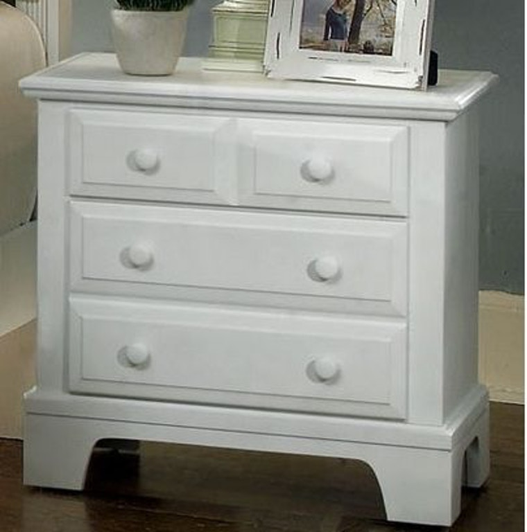 Bassett Furniture Company: Vaughan-Bassett Furniture Company Bedroom Night Stand BB6