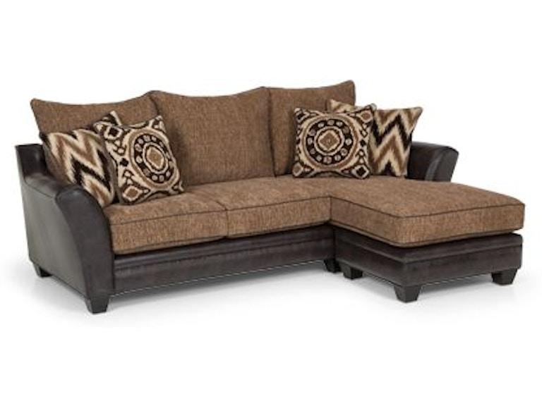 Stanton Furniture Living Room Sofa Chaise 25733 Gerbers Home