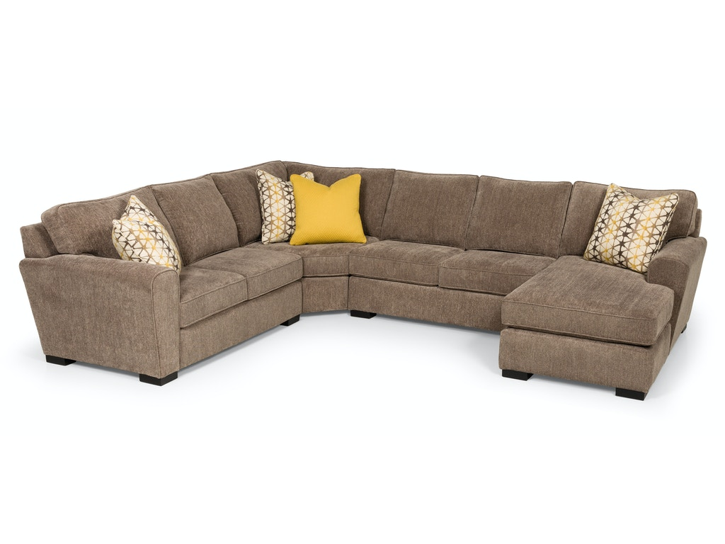 Stanton furniture living room 323 sectional isaak s home for Furniture yakima