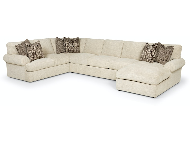 Stanton Furniture Plushtone Linen Sectional 329 In Portland Oregon