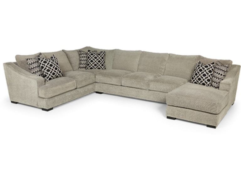 Incredible Stanton Furniture Living Room Domain Dove Sectional 338 Pabps2019 Chair Design Images Pabps2019Com