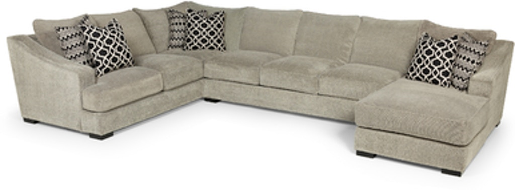 Astonishing Stanton Furniture Living Room Domain Dove Sectional 338 Pabps2019 Chair Design Images Pabps2019Com