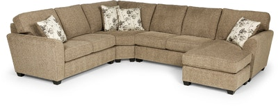 Stanton Furniture Logan Stone Sectional 643 Sectional