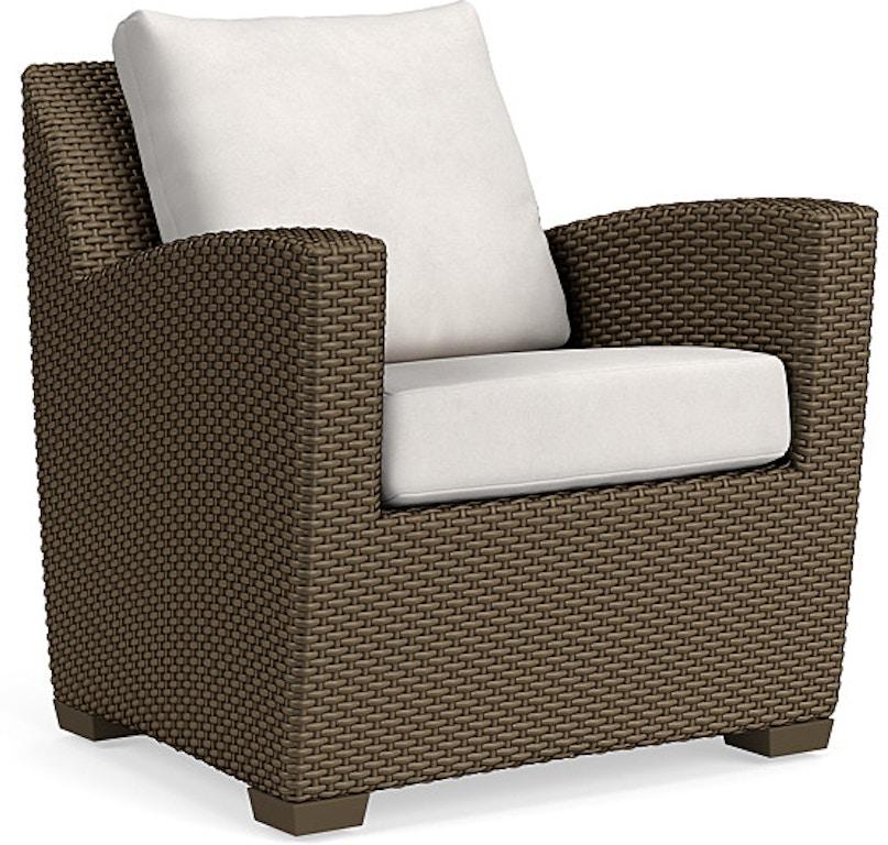 Admirable Brown Jordan Outdoor Patio Lounge Chair Pillow Back 2860 Evergreenethics Interior Chair Design Evergreenethicsorg