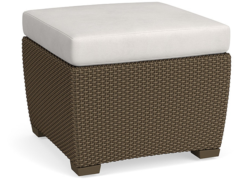 Brown jordan living room ottoman 2860 6100 br stowers for Living room june jordan