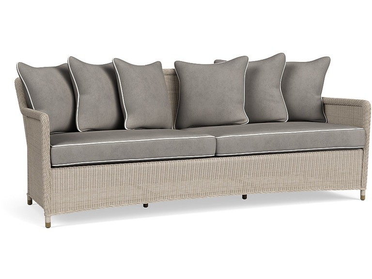 Brown Jordan Sofa, Loose Cushions And Pillows 4580-6300