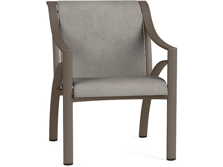 Magnificent Brown Jordan Outdoor Patio Arm Chair With Sling 5190 2000 Onthecornerstone Fun Painted Chair Ideas Images Onthecornerstoneorg
