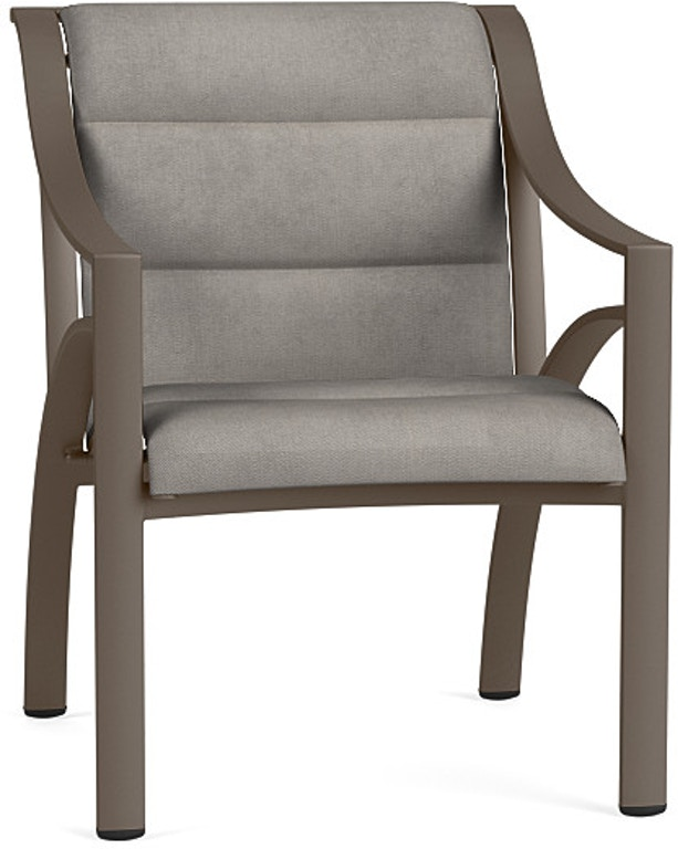 Fine Brown Jordan Outdoor Patio Arm Chair Padded 5240 2000 Onthecornerstone Fun Painted Chair Ideas Images Onthecornerstoneorg