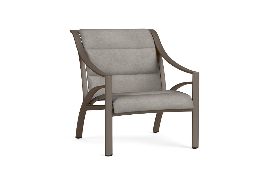 Brown Jordan Lounge Chair With Padded 5240 5000