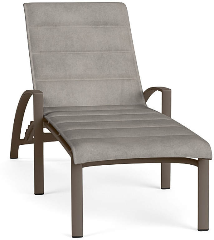 Stupendous Brown Jordan Outdoorpatio Stacking Adjustable Chaise With Theyellowbook Wood Chair Design Ideas Theyellowbookinfo