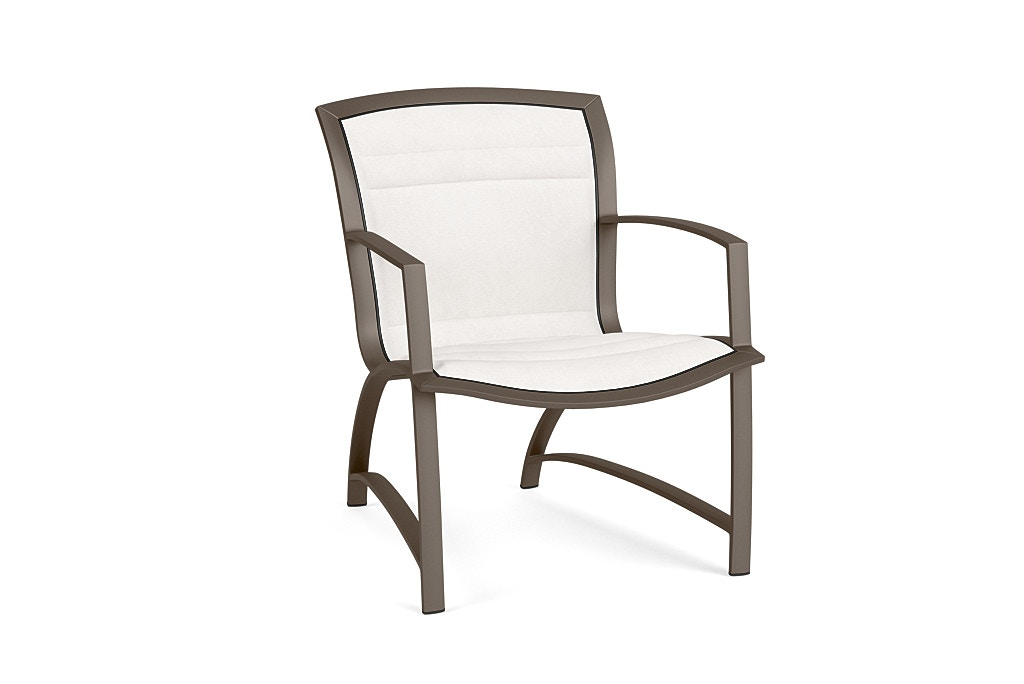 Brown Jordan Lounge Chair With Padded 5320 5000