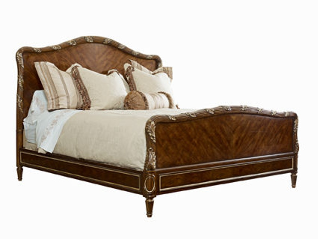 Henredon Bedroom Bed 6 6 King With Wood Headboard