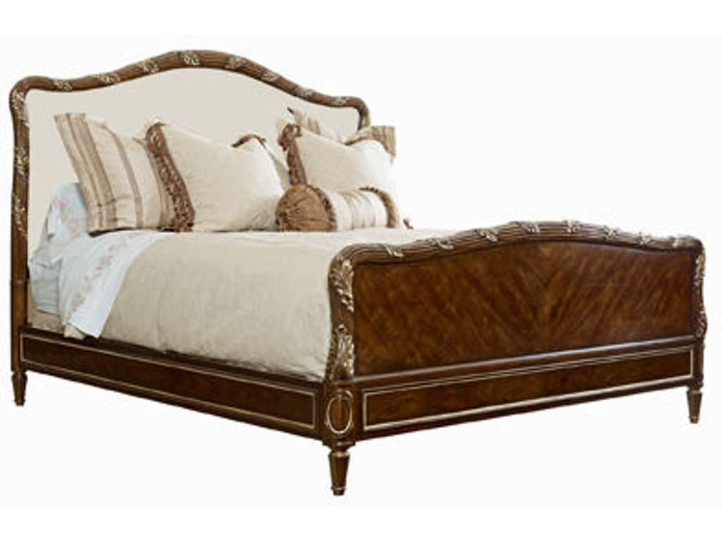 Bedroom Bed 6 6 King With Wood Headboard Footboard 2706
