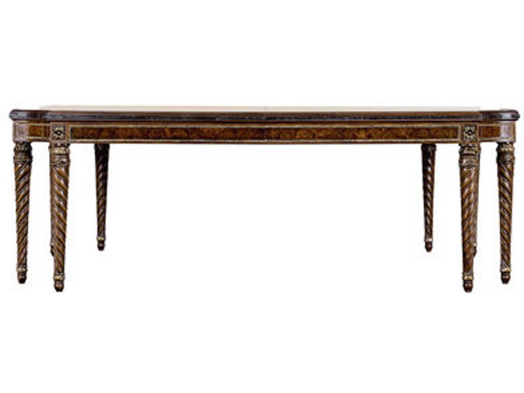 Henredon dining room dining table 2706 20 cherry house for Dining room table for 20