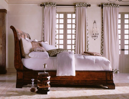 Henredon Bedroom Sleigh Bed 6 0 California King 6201 14 93 Imi