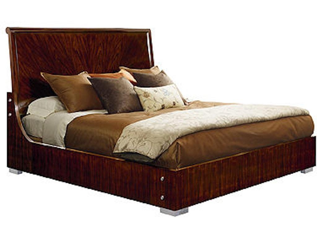 Henredon Bedroom Bed 6 6 King Headboard And Footboard