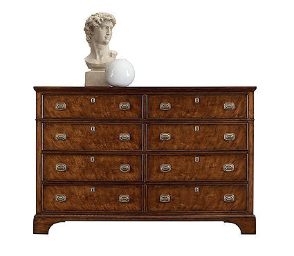 Henredon Bedroom Double Dresser 9600 01 At Hollbergu0027s Fine Furniture