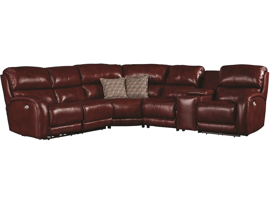 Southern Motion Living Room Fandango Sectional 884-Sectional ...