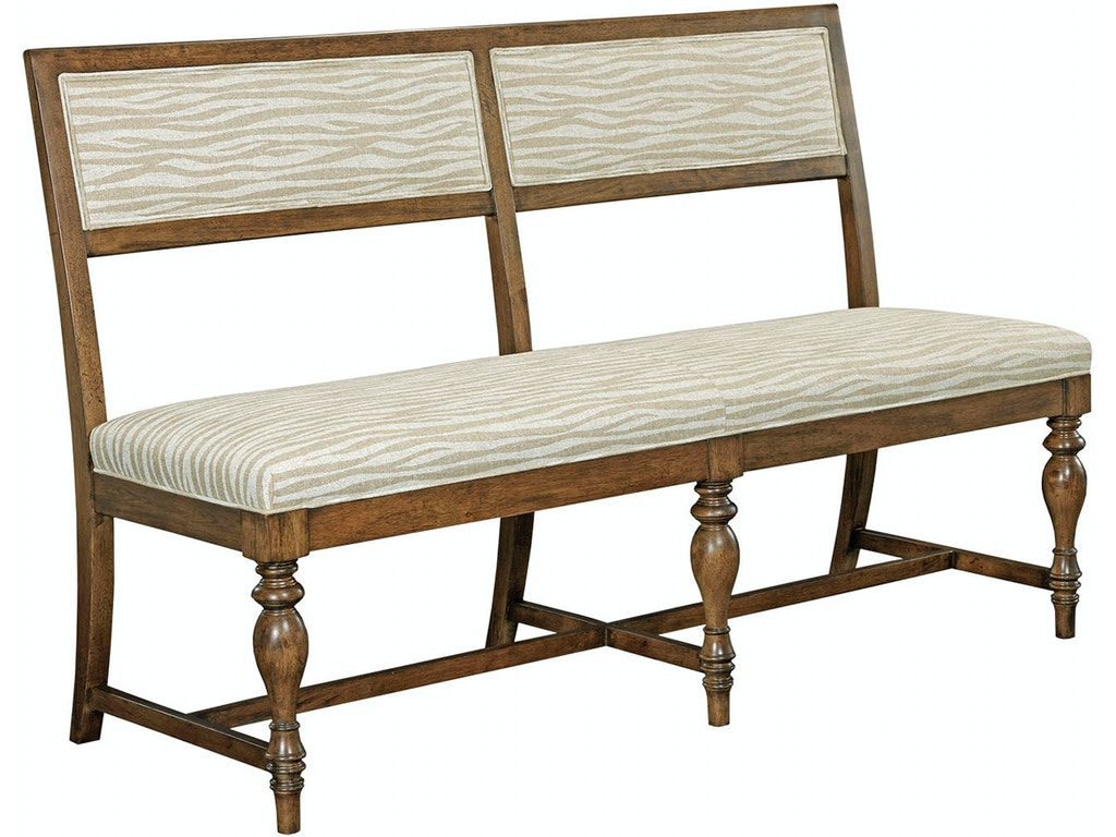 Drexel dining room homage banquette 175 779 warren for Dining room tables milwaukee