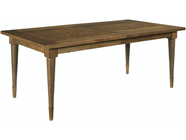 Herringbone Dining Table DK - Drexel dining table