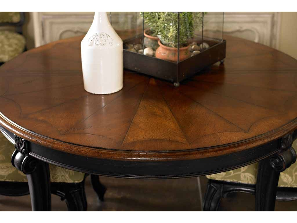 drexel dining room table ronde round table 311 621 mccreerys home furnishings sacramento. Black Bedroom Furniture Sets. Home Design Ideas