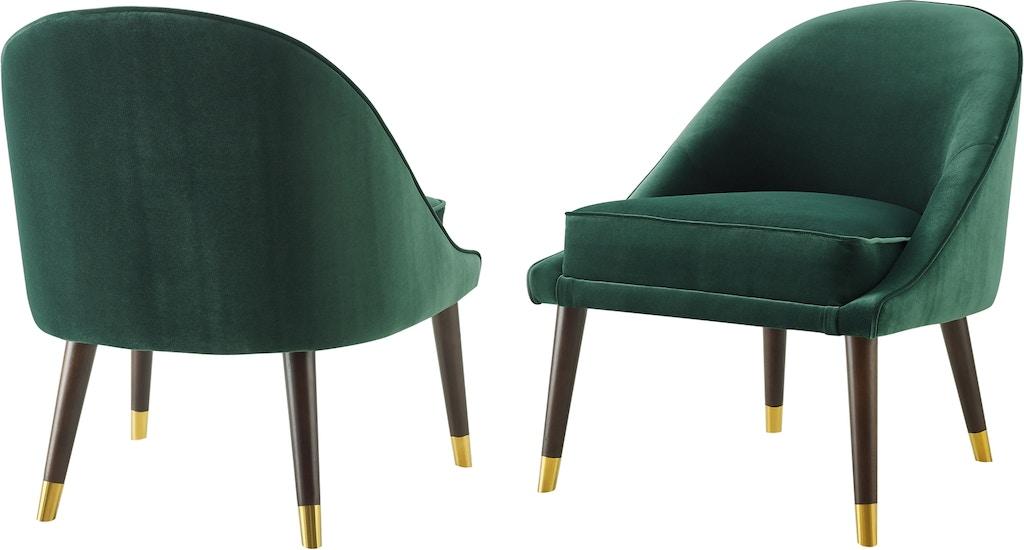 Swell Steve Silver Living Room Avalon Velvet Accent Chair Av850Acg Machost Co Dining Chair Design Ideas Machostcouk