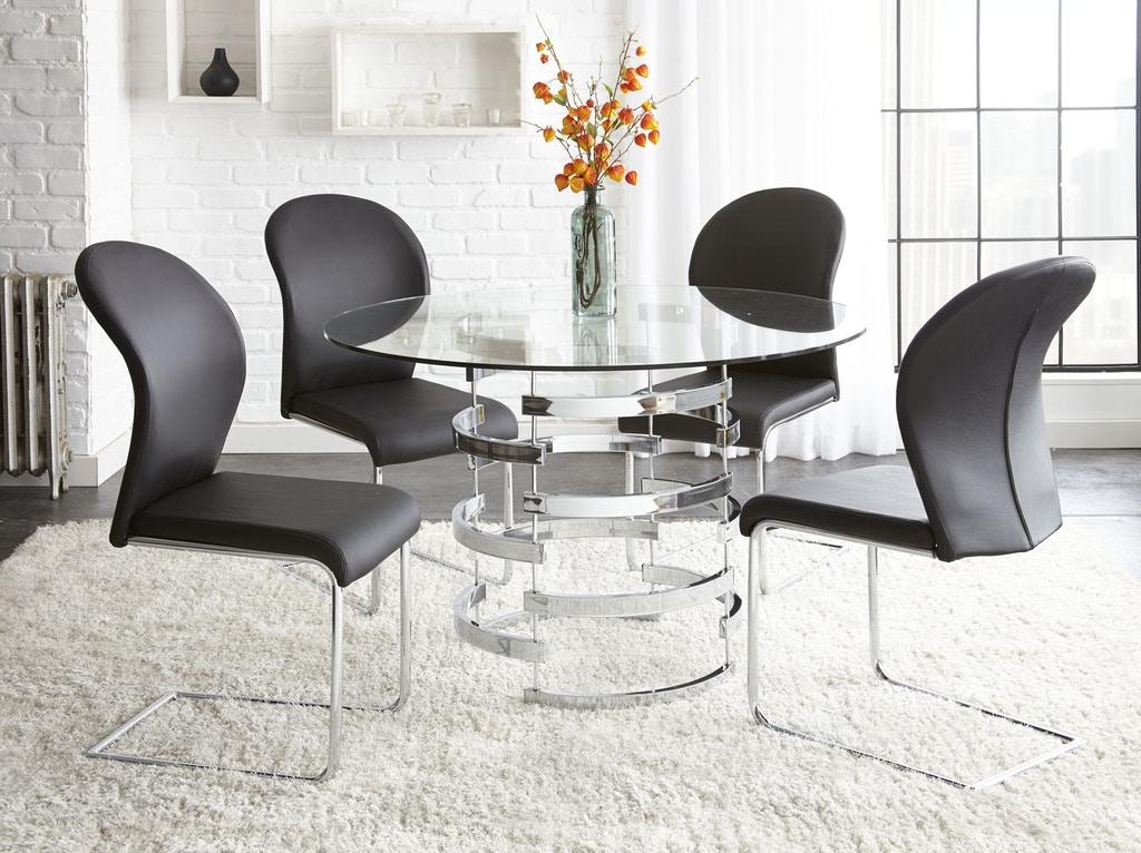 Steve Silver Dining Room Tayside Dining Table Base TS450B ...