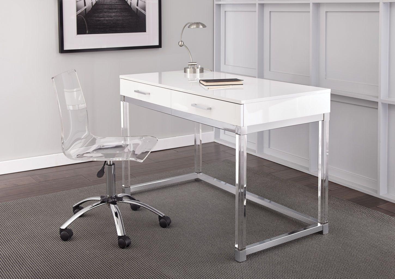 Arthur Adjustable Swivel Chair & Home Office Chairs - Bob Mills Furniture - Tulsa Oklahoma City OKC ...
