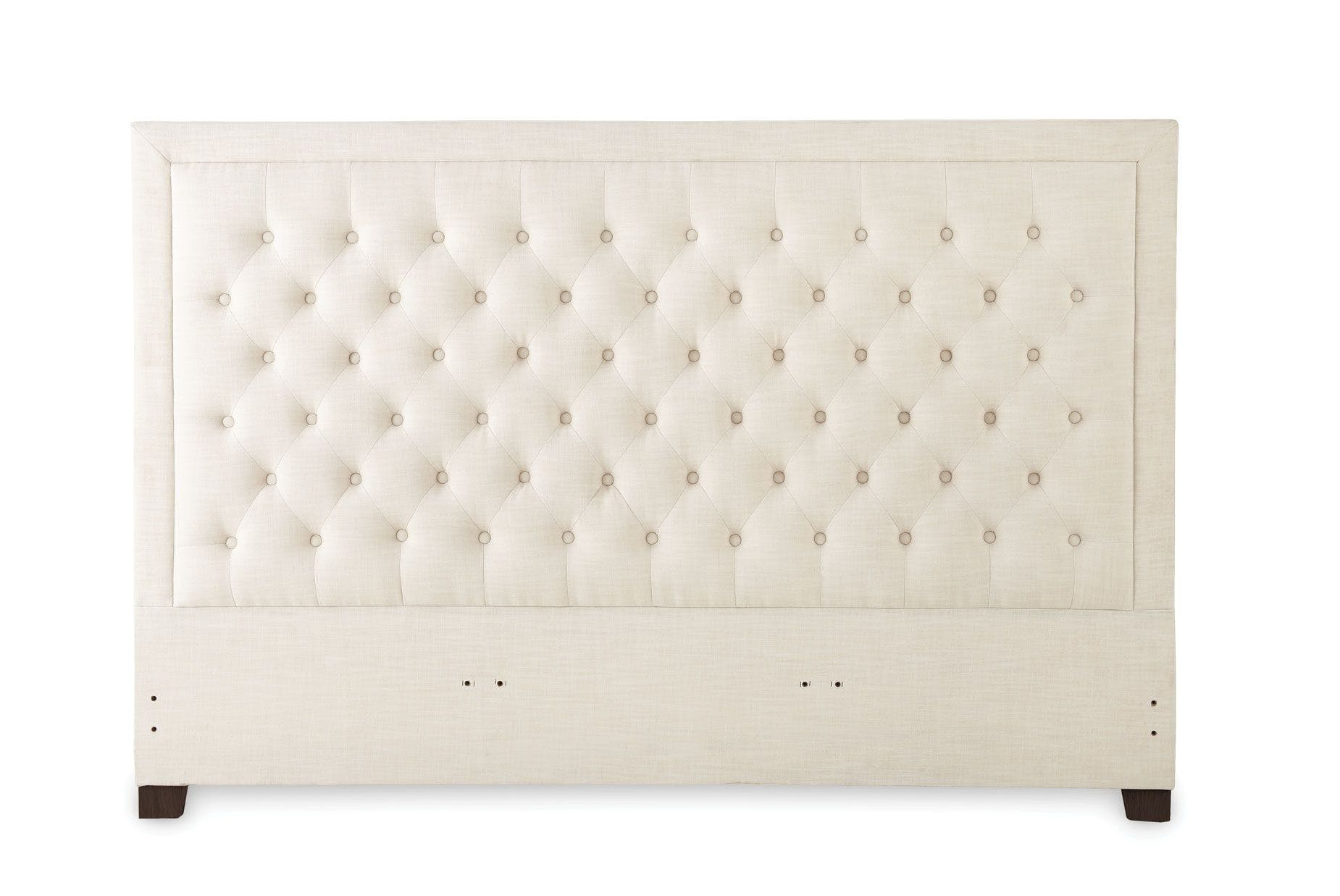 Picture of: Steve Silver Bedroom Isadora Queen White Upholstered Headboard Id890qhbw Carol House Furniture