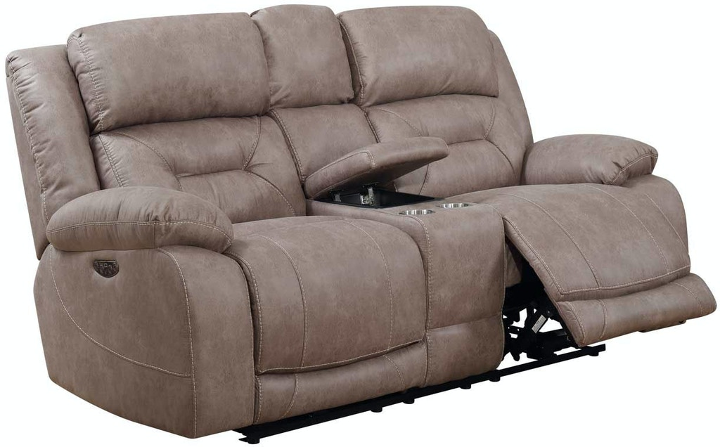 Steve Silver Living Room Aria Pwr Pwr Recliner Console
