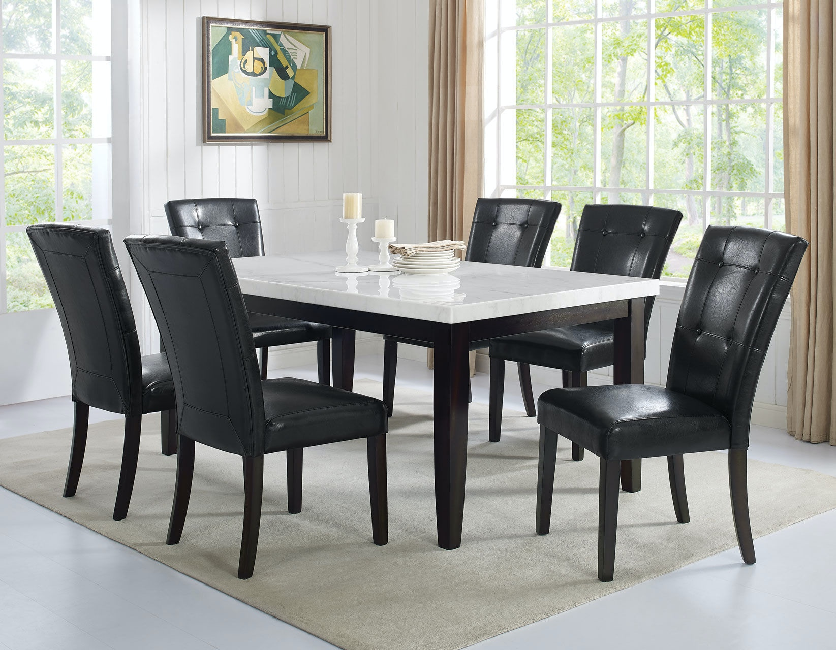 Steve Silver Francis Dining Table Leg FC500TL : francis bay chairs - Cheerinfomania.Com