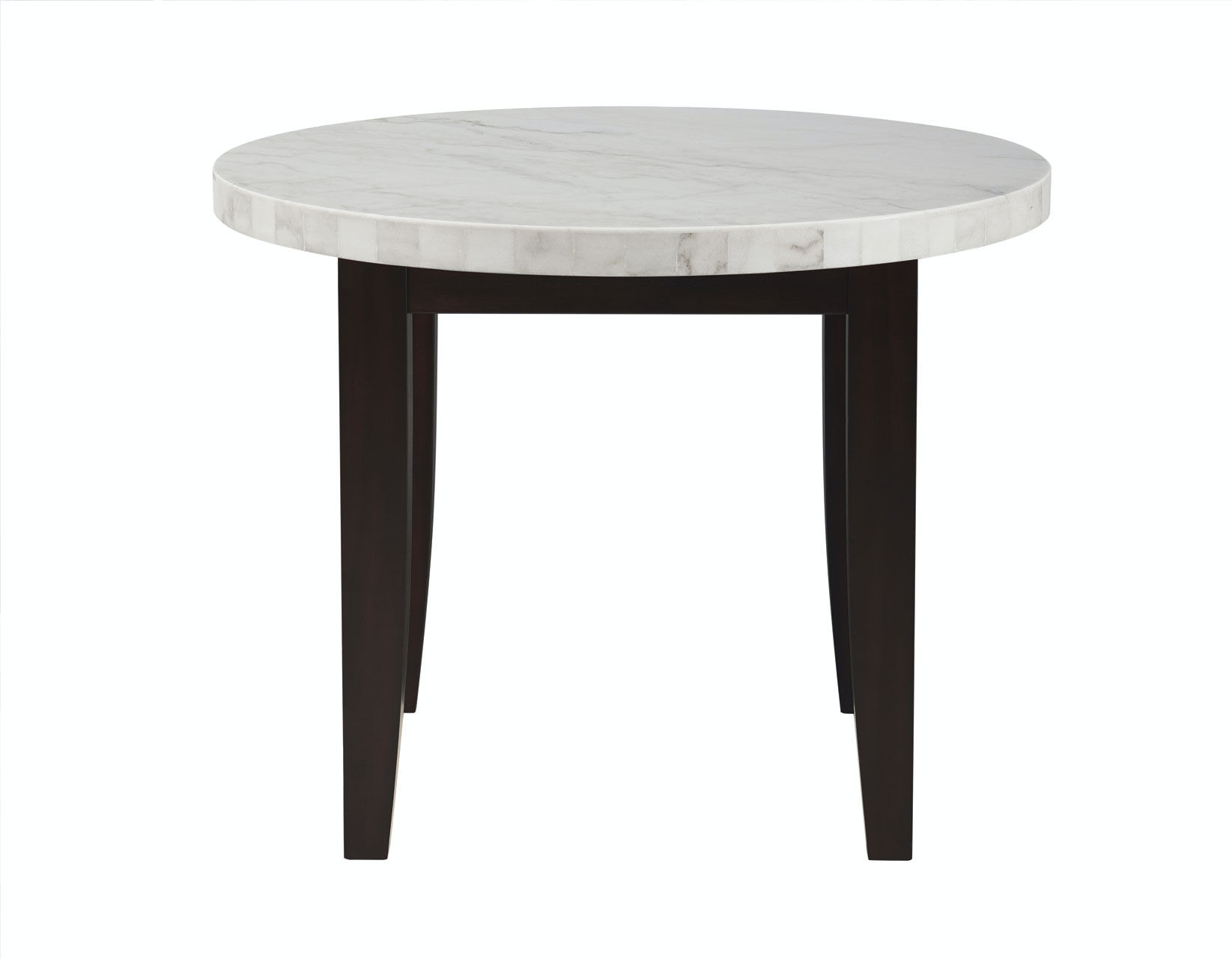 Steve Silver Francis Round White Marble Top FC600MT